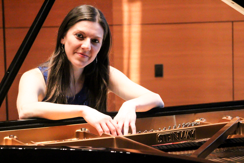 Natasha Stojanovska, pianist and composer