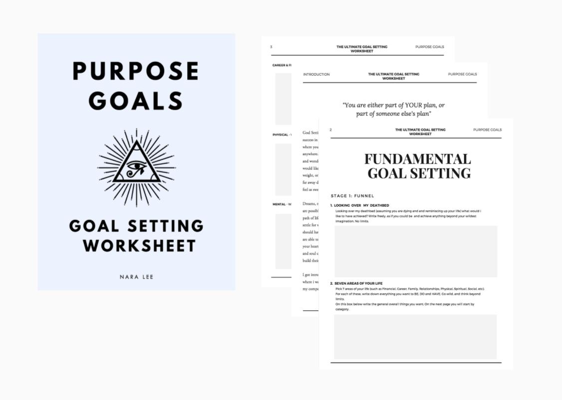 Goal Setting Worksheet Free PDF-Nara Lee.png