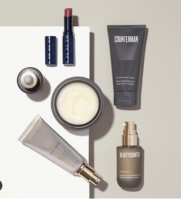 CLEANSING BALM  |  DEW SKIN  |  COLOR STAY LIP  |  COUNTER MAN COLLECTION