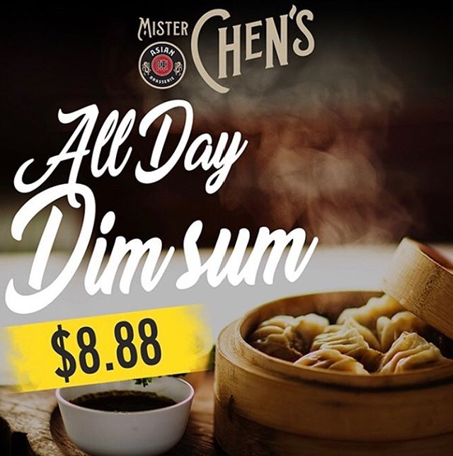 It's #Sunday so you KNOW we're craving Dim sum. We're betting you are too! Which is why we've got our featured Sunday promotion happening now! All day long, our featured Dim sum dumpling dishes including our Shu Mai Agnolotti, Wild Boar Potstickers, Mushroom Wontons, Rufa's Soup Dumplings and Rufa's Shu Mai are on all special for only $8.88!🥟🥢👍🏼Come satisfy those weekend cravings with us! #eatlocal #sundayfunday #misterchensyyc #dimsumfordays #yycevents