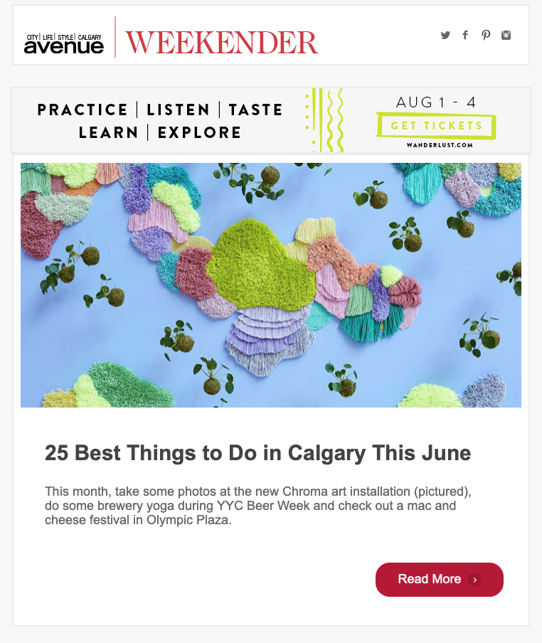 Mister Chen's Avenue Magazine Top 25 Things To Do In Calgary