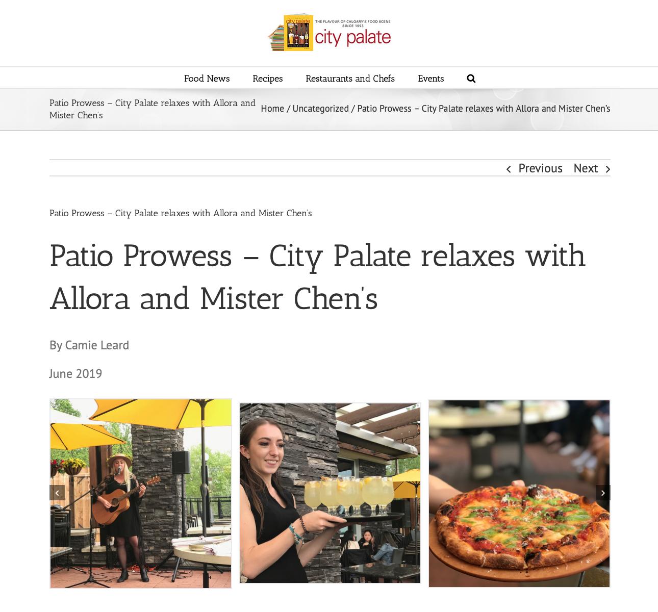 Mister Chen's Restaurant Patio Calgary