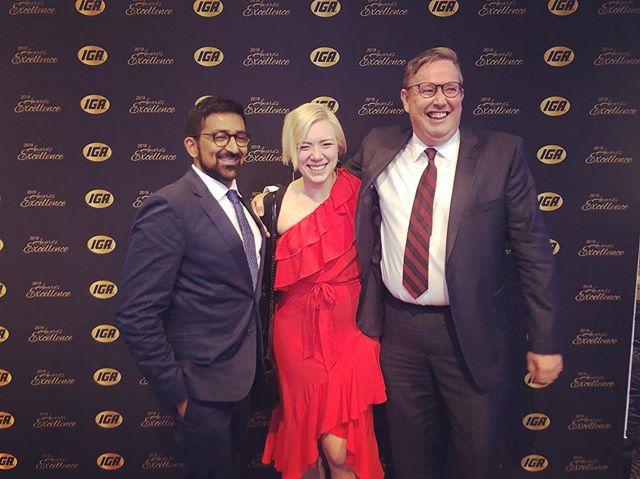 A wonderful night celebrating IGA's hardworking independents 💪🥳💃 . . . #iga #igaaustralia #independance #awardsnight #creativeagency #creativity #tothecore #thecoreagency
