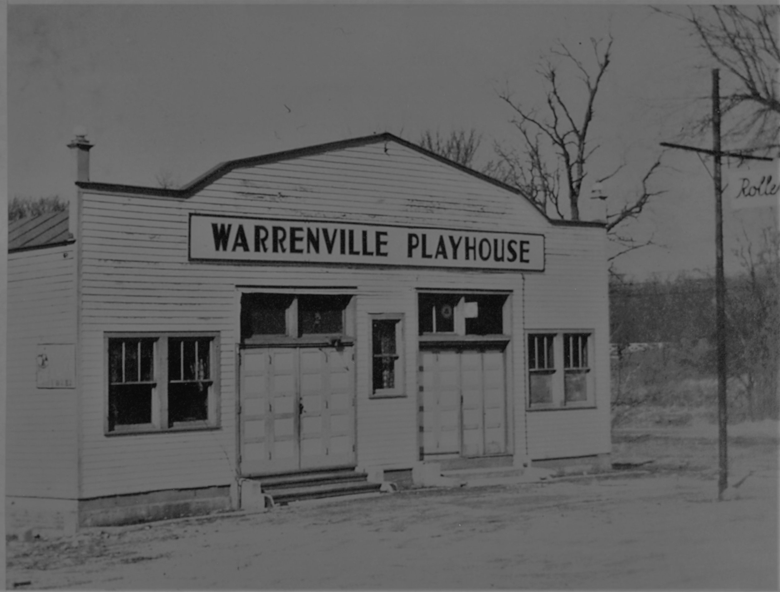 The Warrenville roller-skating rink, that during Prohibition days was owned and run by Antonio Renella, a reputed member of the Al Capone gang.