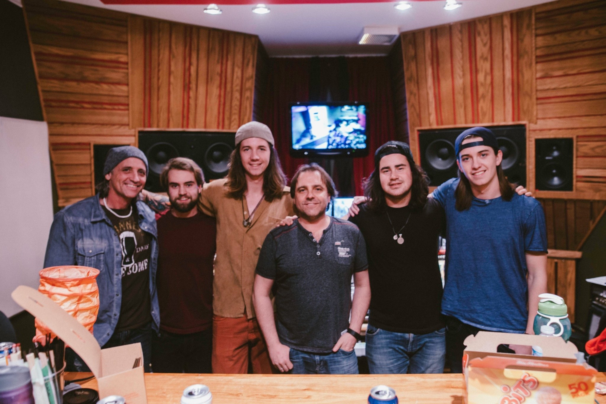 MCC Recording Studio - Calgary, AB - We had 'In The Distance', 'Won't Forget Your Love' and 'My Ecstasy' in the bag at MCC Recording Studio with Engineer, Johnny Gasparic – later mixed by Cedrick Courtois. 'In The Distance' was the first single we chose to launch this campaign.