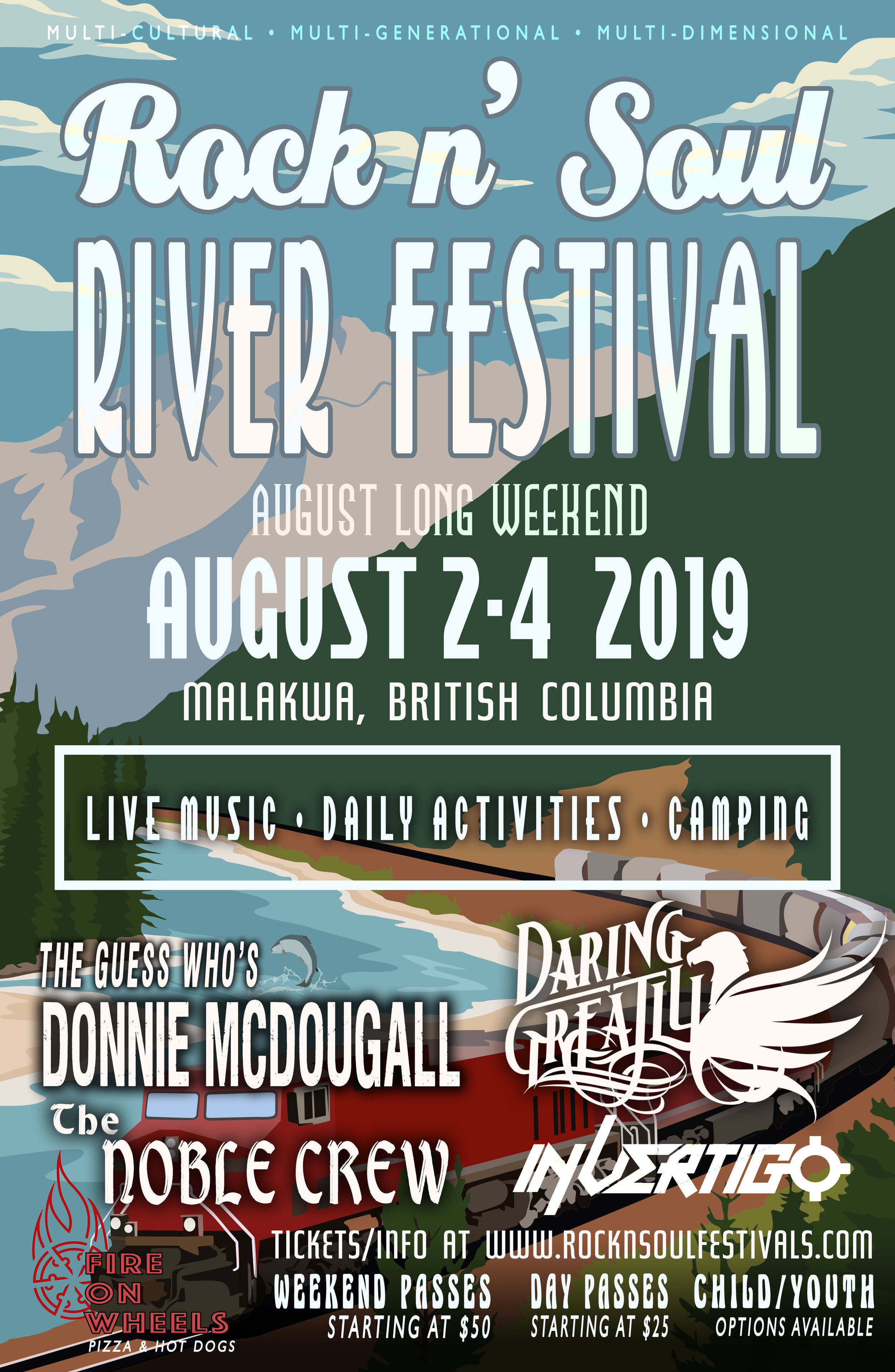 Rock n' Soul River Festival - Malakwa, BC — Daring Greatly