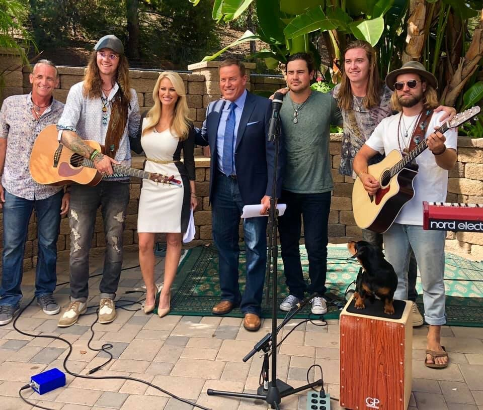 "- Daring Greatly on Channel 9, KUSI News — Good Morning San Diego to promote their new single, ""Give Myself to the World."" Watch the full segment HERE"
