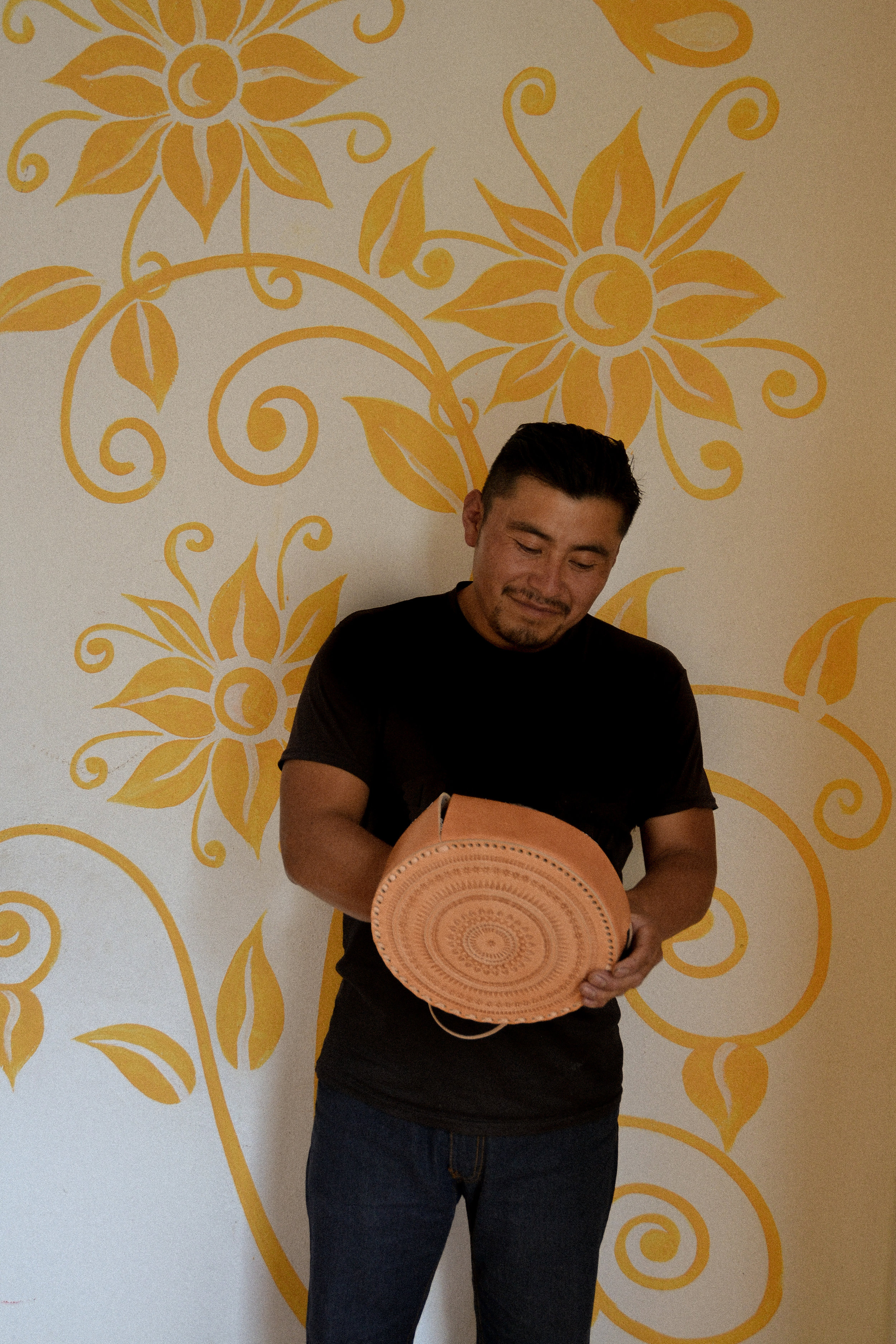 Miguel has worked in construction for years now and it was only a few years ago that he discovered his passion for leather. He is a very talented leather worker and his main job is treating the leather prior to production.