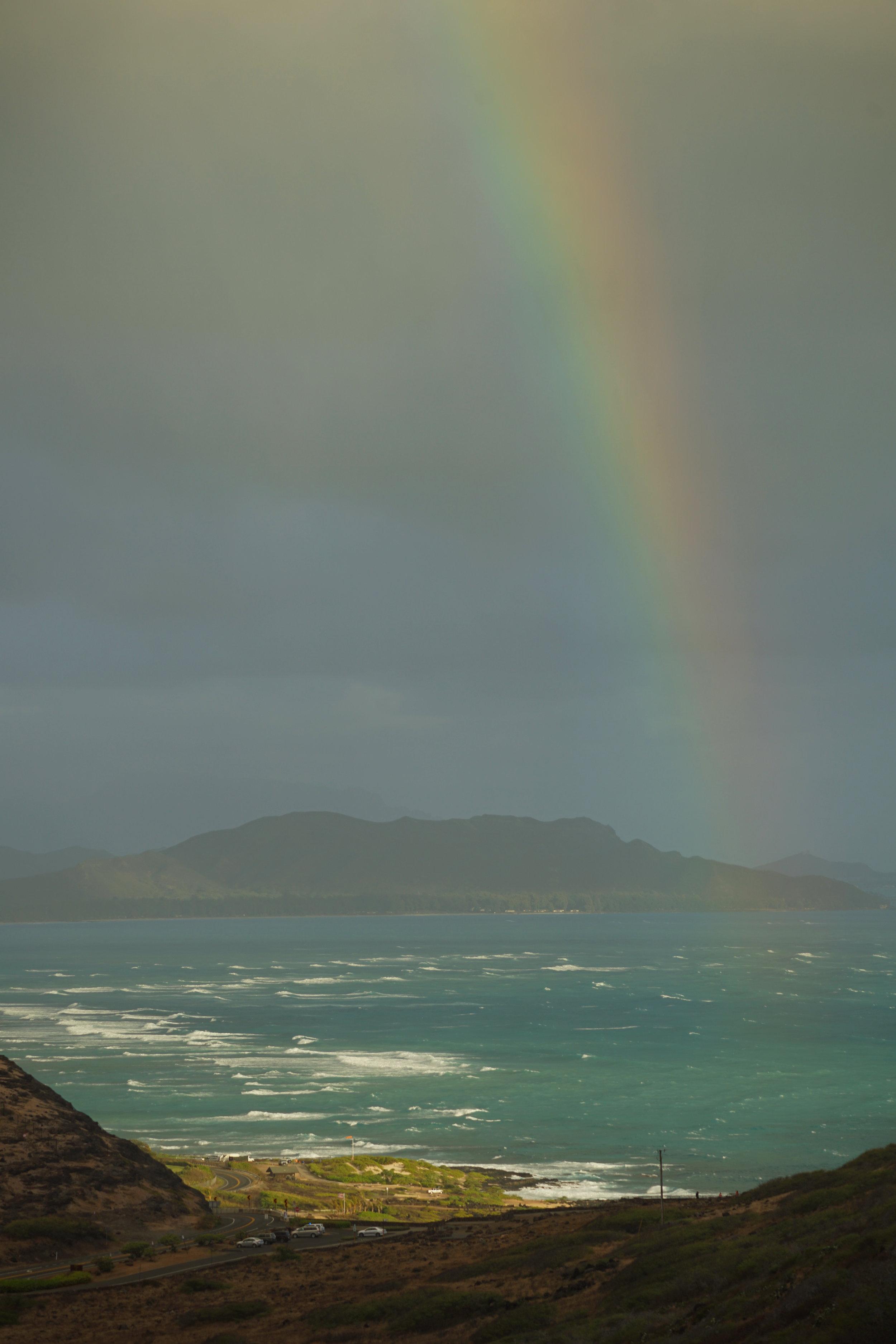 View off Makapuʻu Beach. Credit: Paula Moehlenkamp