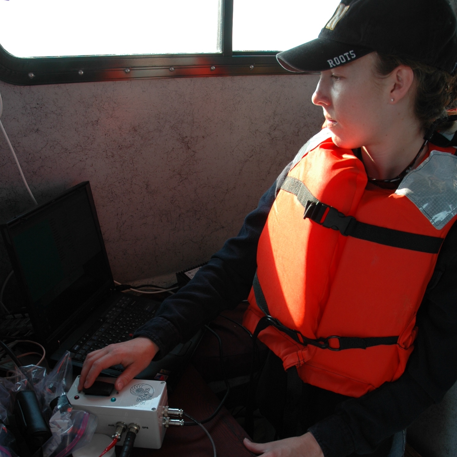 Olivia Cheriton - Ph.D. in Ocean SciencesGraduated: 2008, University of CaliforniaDissertation: Physical Processes Influencing the Formation and Persistence of Thin Plankton Layers in the Coastal Ocean.At Present: Oceanographer. USGS. Santa Cruz, California