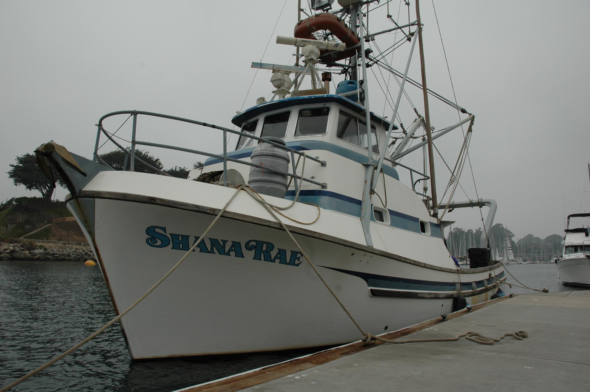 Shana Rae Santa Cruz Harbor