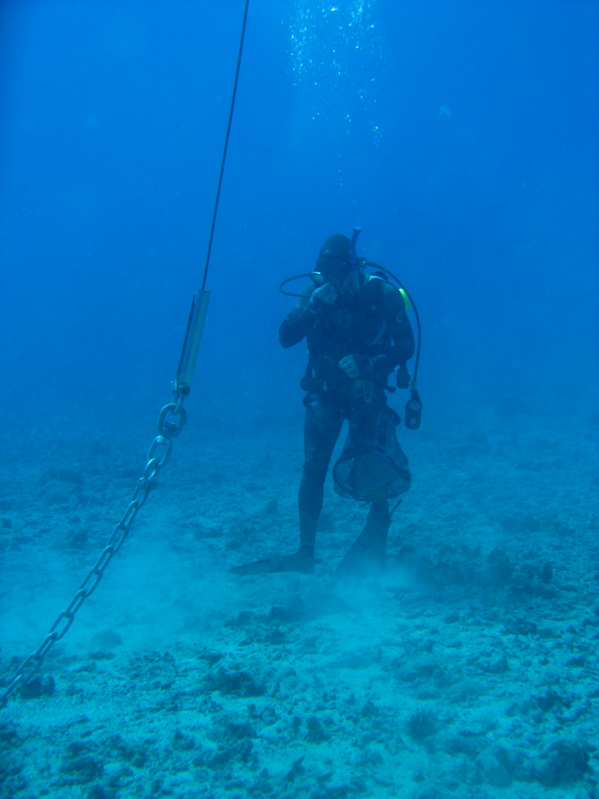 Mooring check Oʻahu