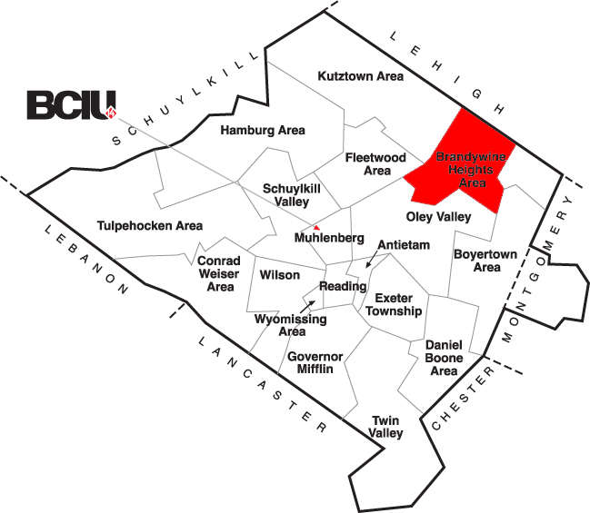 Berks County School District Map - Brandywine Heights.png