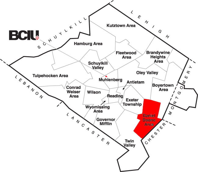 Berks County School District Map - Daniel Boone.png