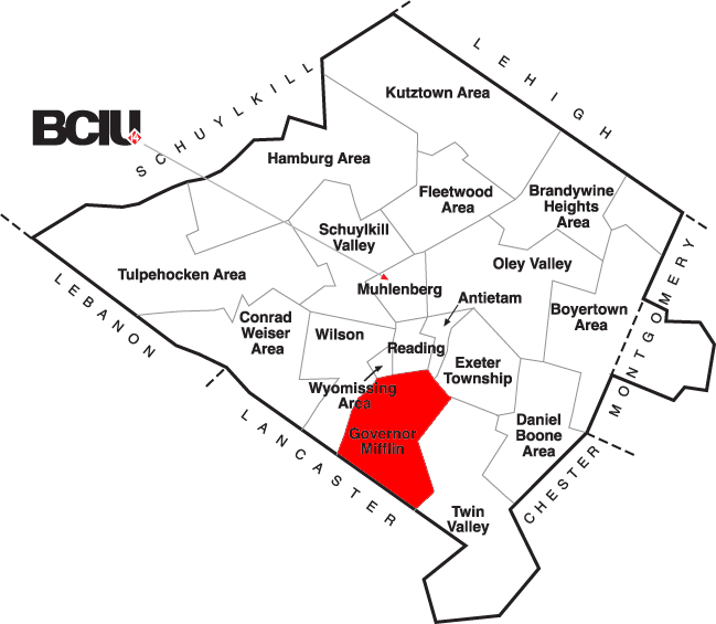 Berks County School District Map - Governor Mifflin.png