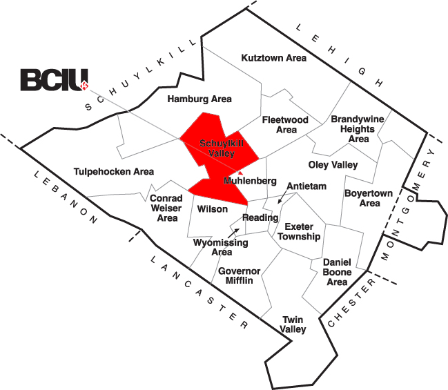 Berks County School District Map - Schuylkill Valley.png