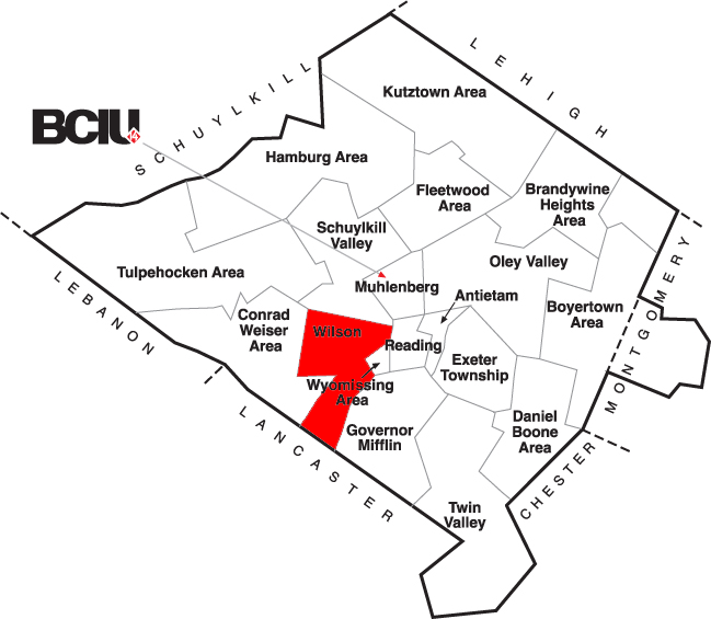 Berks County School District Map - Wilson.png