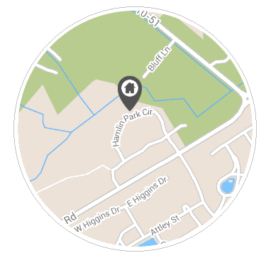 Map View - Google map, sidebar of properties