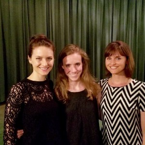 With Amie Cazel and Erin Brehm