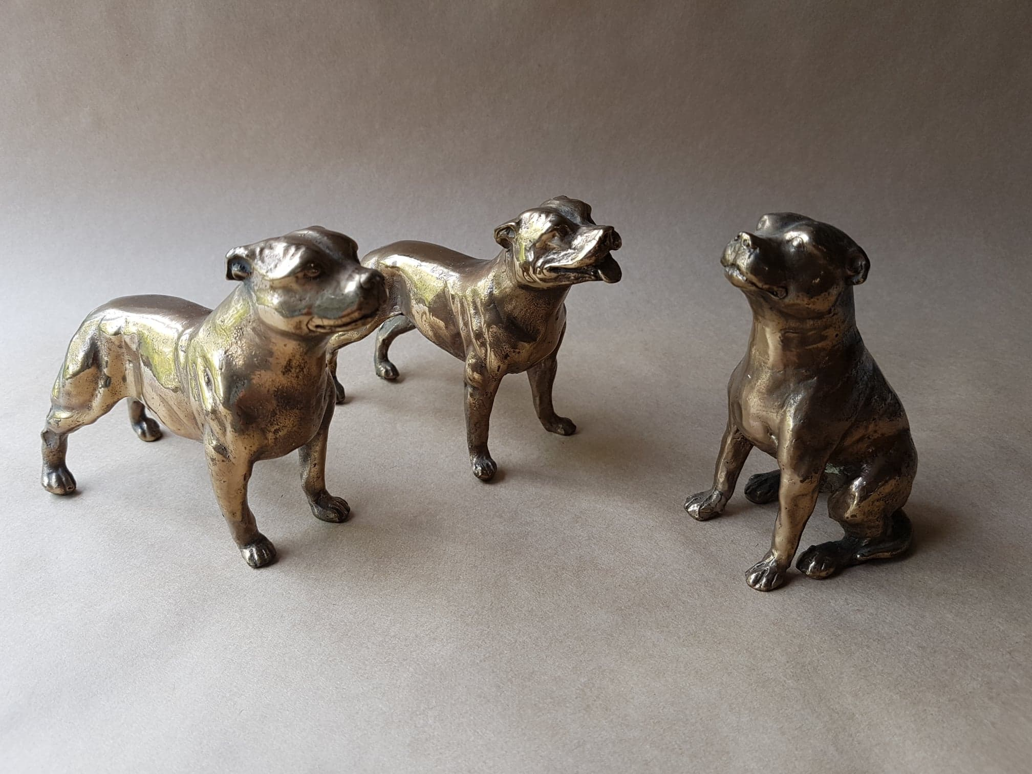Staffordshire Bull Terrier Figurines
