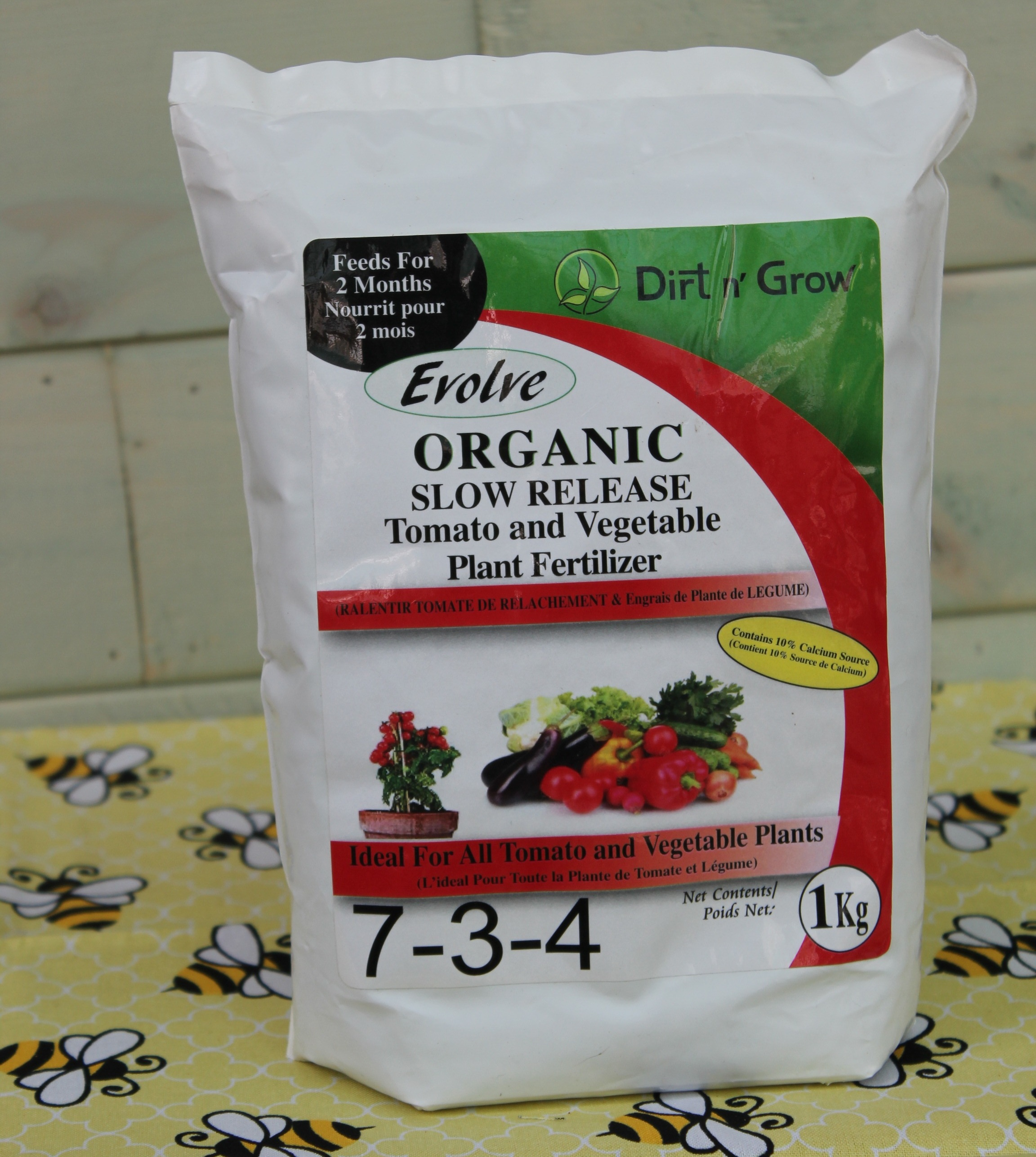 ORGANIC SLOW RELEASE TOMATO AND VEGETABLE