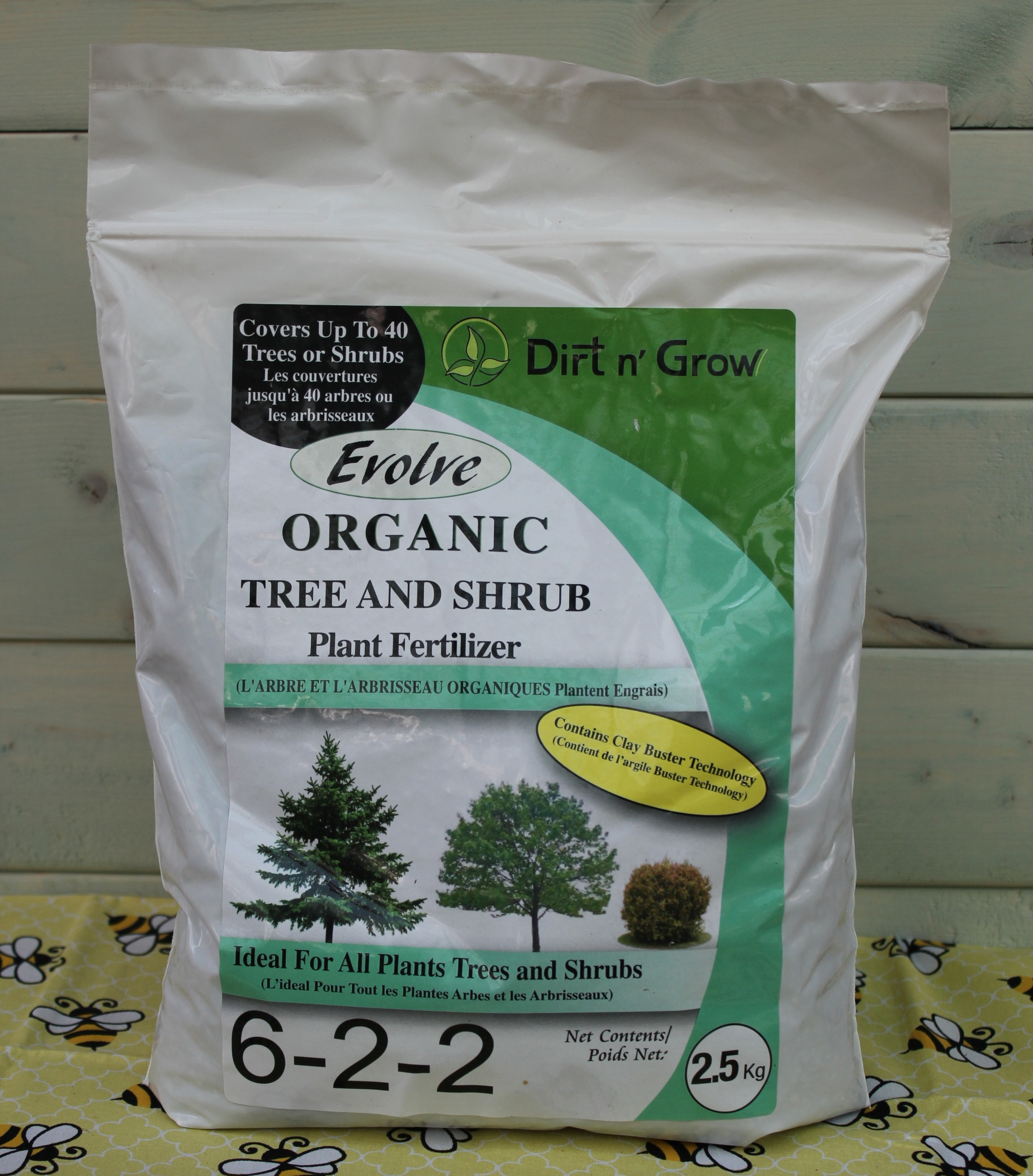 ORGANIC SLOW RELEASE TREE AND SHRUB