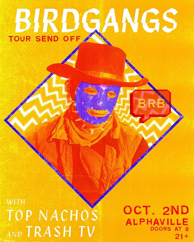 NYC SHOW ANNOUNCEMENT!!! After a summer out in Amish Country THE TIME IS UPON US 🦅🦅🦅 We're stoked to announce we're gonna be kicking off our fall tour on Oct 2 at @alphavillebk w/ @topnachos & @trash_television! We're hyped to get back on the road, the full tour will be announced v v soon.  It's gonna be a real fun way to start it all off, we hope to see you there LETS GET WEIIIRRRRDDDDDDD MUKALUCKAS