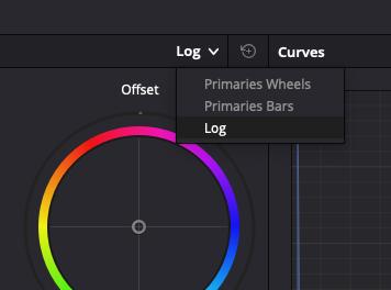 Log Color Wheel