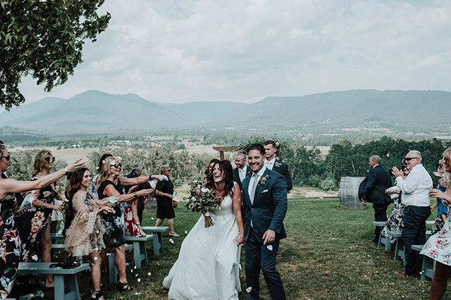 We're so lucky to have a career where we get to be a part of the happiest day of peoples' lives. This special memory from the lovely Cheryl + Ryan's special day. Let us tell your story. . . . . . . . . . #justmarried #weddingdress #wedding #whitewedding #weddingphotography #destinationwedding #weddingphotographer #melbournewedding #melbourneweddingphotography