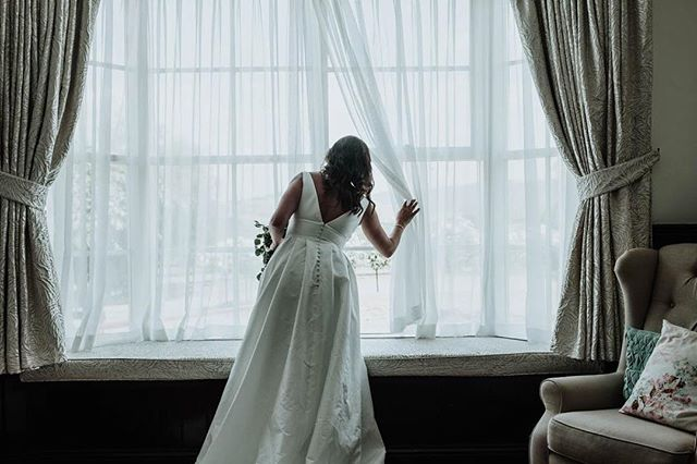 A moment of wondrous reflection from Cheryl & Ryan's beautific wedding day and the amazing @riverstoneestate A very special couple that have a special place in our hearts. . . . . . . #wedding #weddingphotography #melbourneweddings #melbourneweddingphotographer #whitewedding #winterwedding #bride #windowlight