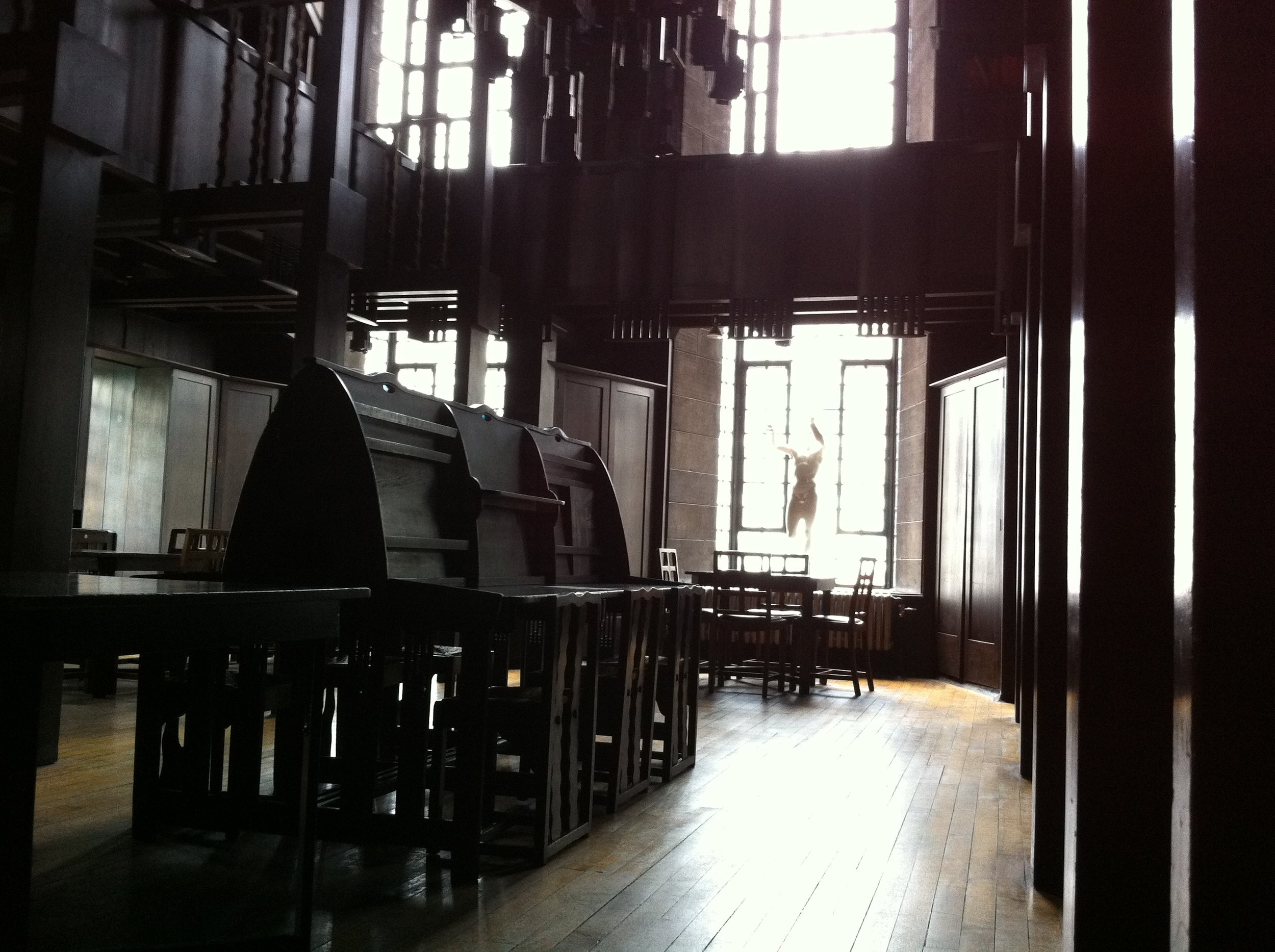 Mackintosh Library, Glasgow School of Art, Glasgow, Scotland