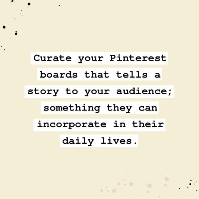 Pinterest is more than just your brand's catalog.⠀⠀⠀⠀⠀⠀⠀⠀⠀ ⠀⠀⠀⠀⠀⠀⠀⠀⠀ It may be so fun to pin those aesthetically-pleasing photos of Urban Outfitters-inspired bedrooms or those funky branding logos that we wanna cop for our own business logo.⠀⠀⠀⠀⠀⠀⠀⠀⠀ ⠀⠀⠀⠀⠀⠀⠀⠀⠀ Sure it still has to hold that certain aesthetic with how we organize our boards but trust me, it GOES WAY MORE THAN THAT.⠀⠀⠀⠀⠀⠀⠀⠀⠀ ⠀⠀⠀⠀⠀⠀⠀⠀⠀ When we're using Pinterest for our business, our audience's experience is our top priority. The way we present our brand, how we create and organize our boards, and the content we pin on the platform -- are all for the benefit of our audience.⠀⠀⠀⠀⠀⠀⠀⠀⠀ ⠀⠀⠀⠀⠀⠀⠀⠀⠀ In my recent blog post, I dive in my 2-step method on what to pin on Pinterest with our audience's quality experience in mind.⠀⠀⠀⠀⠀⠀⠀⠀⠀ ⠀⠀⠀⠀⠀⠀⠀⠀⠀ Your ride to the blog post awaits on my bio!⠀⠀⠀⠀⠀⠀⠀⠀⠀ ⠀⠀⠀⠀⠀⠀⠀⠀⠀ ⠀⠀⠀⠀⠀⠀⠀⠀⠀ .⠀⠀⠀⠀⠀⠀⠀⠀⠀ .⠀⠀⠀⠀⠀⠀⠀⠀⠀ . ⠀⠀⠀⠀⠀⠀⠀⠀⠀ .⠀⠀⠀⠀⠀⠀⠀⠀⠀ #pinterestsuccess #pinteresting #pinterestforbusiness #makechangehappen #lifeofanentrepreneur #pinterestmarketingtips #pinterestmanagement #pinterestideas #pinterestmarketing #pinteresttips #emailmarketingtips #virtualassistance #virtualassistantforhire #thatgirlmeansbusiness #buildyourtribe #weeklyresources #contentmarketingtips #contentmarketingstrategy #growyourbiz #emaillistbuilding #businessbuilding #growyourtribe #howtogrowyourbusiness #biztips #businessbuilder #goalgetters #businessstrategy #universehasyourback #abundancemindset #spiritualentrepreneur