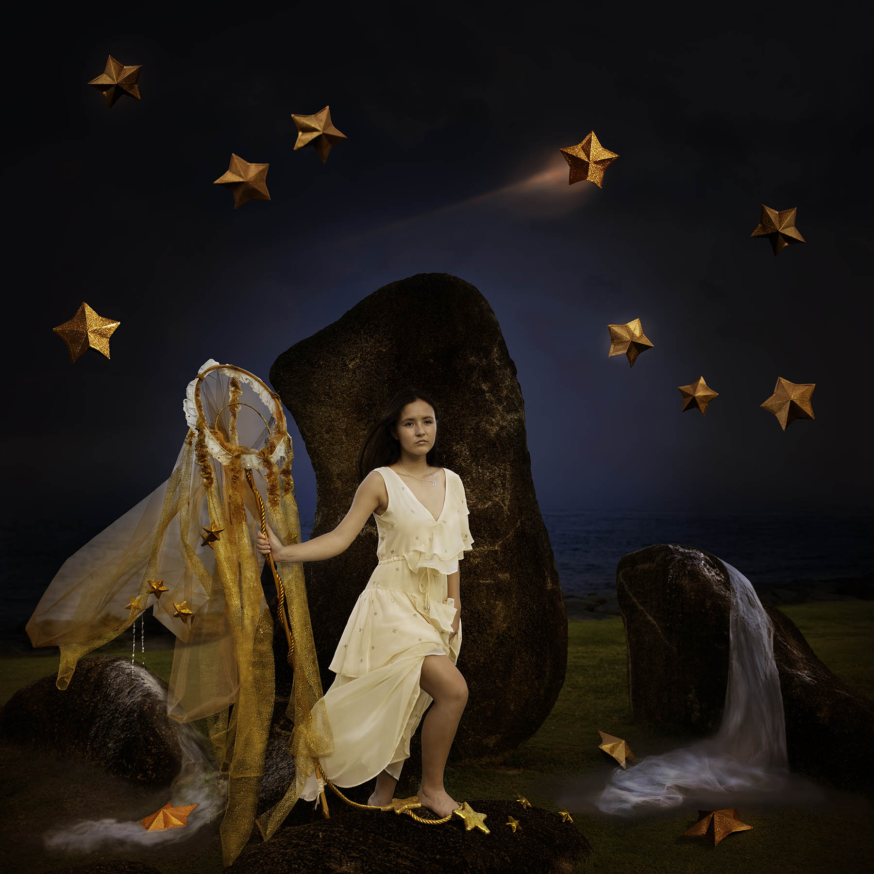 Lady of the starlit sky