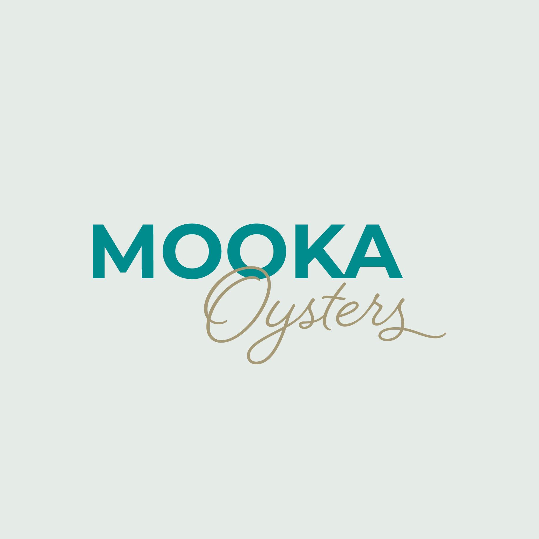 Mooka Oysters Logo Design