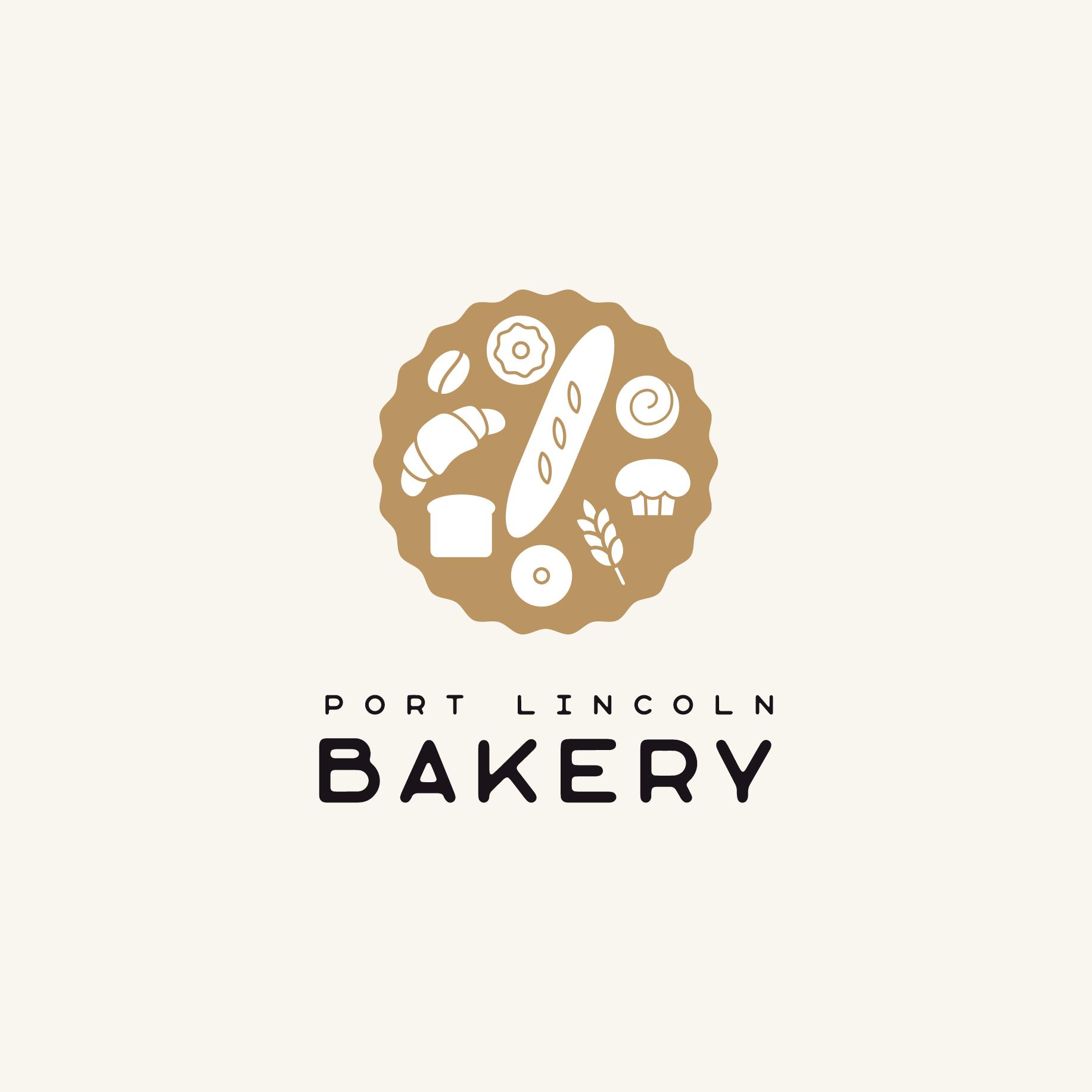 Port Lincoln Bakery Logo Design