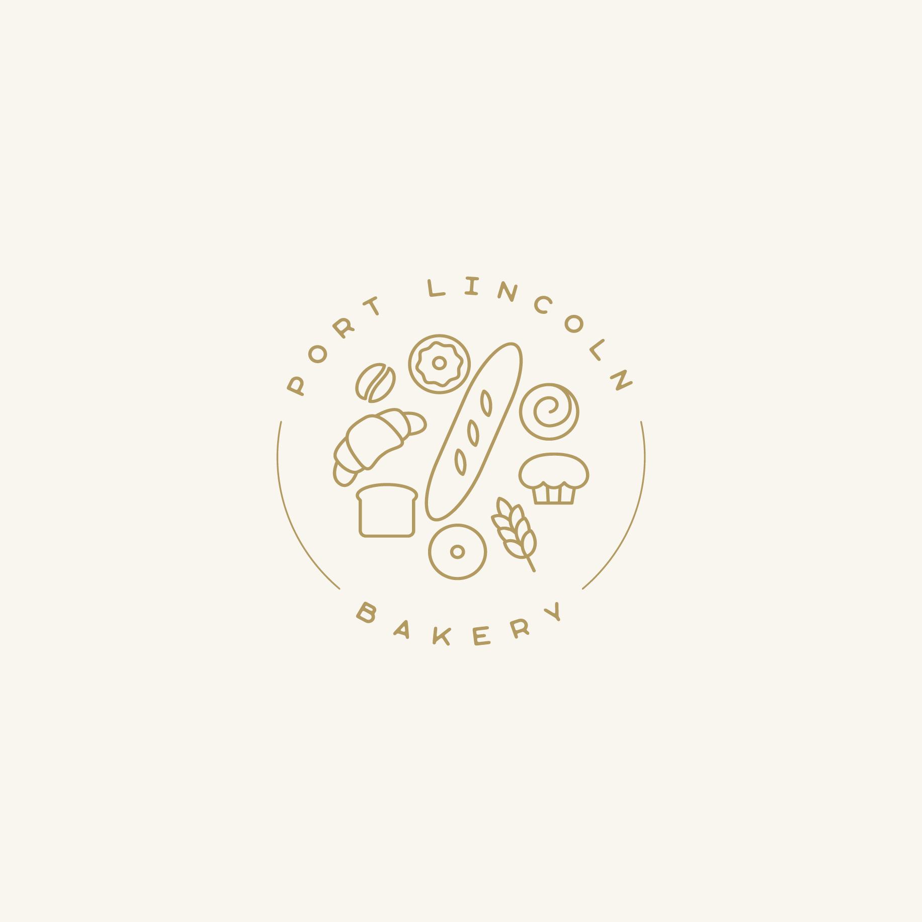Port Lincoln Bakery Branding Sub-Mark