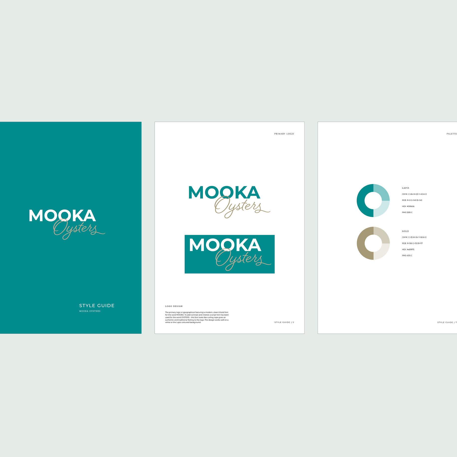 Mooka Oysters Style Guide
