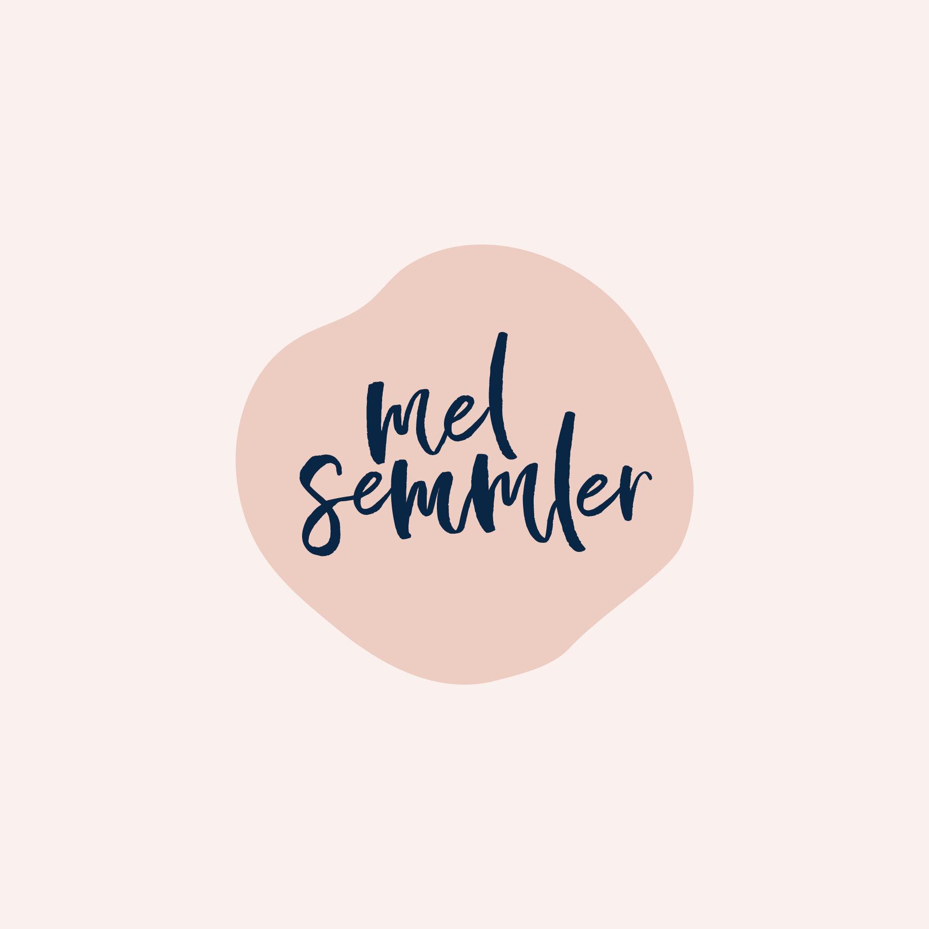 Mel Semmler Logo Design