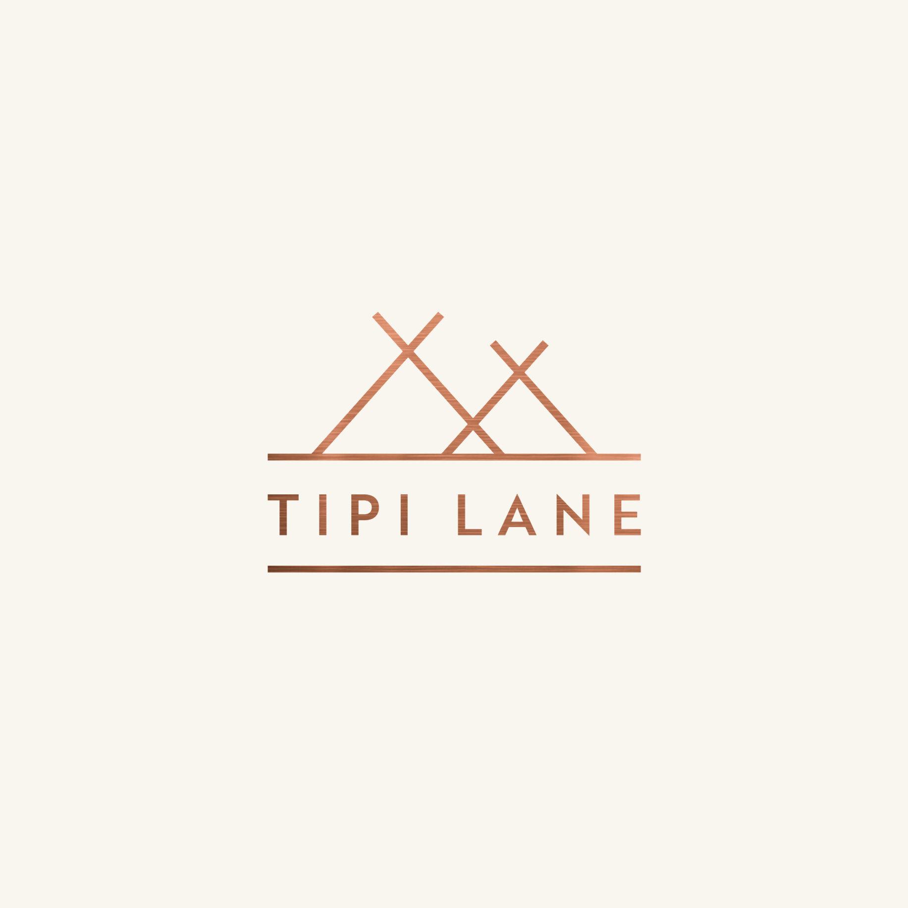 Tipi Lane Logo Design