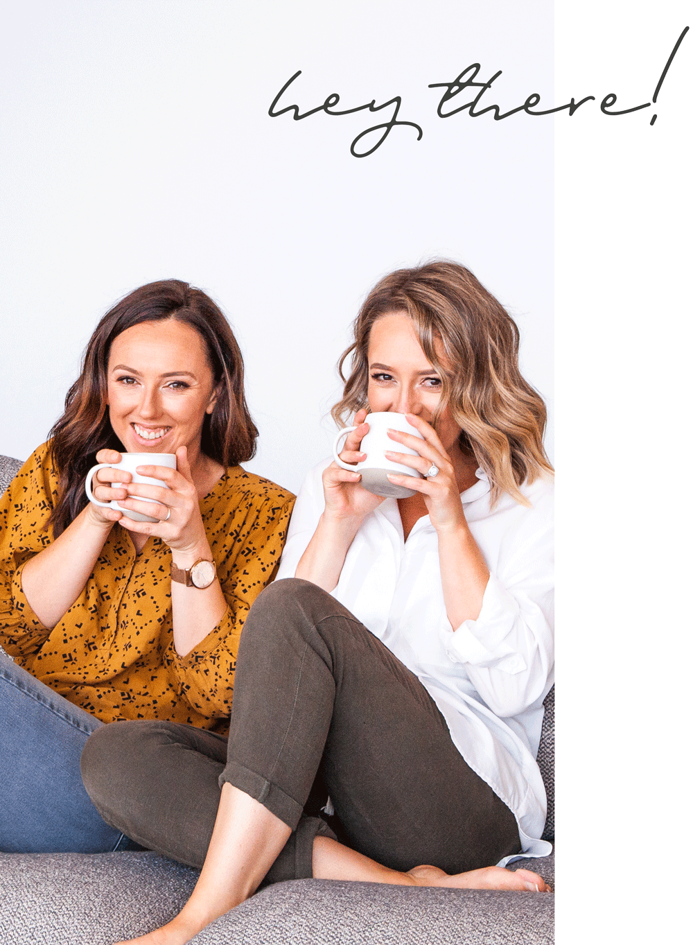 We're Jess & Lauren - a couple of small town coastal creatives - …experts at simplifying marketing, lovers of all things visual and captivated by great branding! Our happiest days are spent helping the small business movers and shakers stand out in the marketplace.
