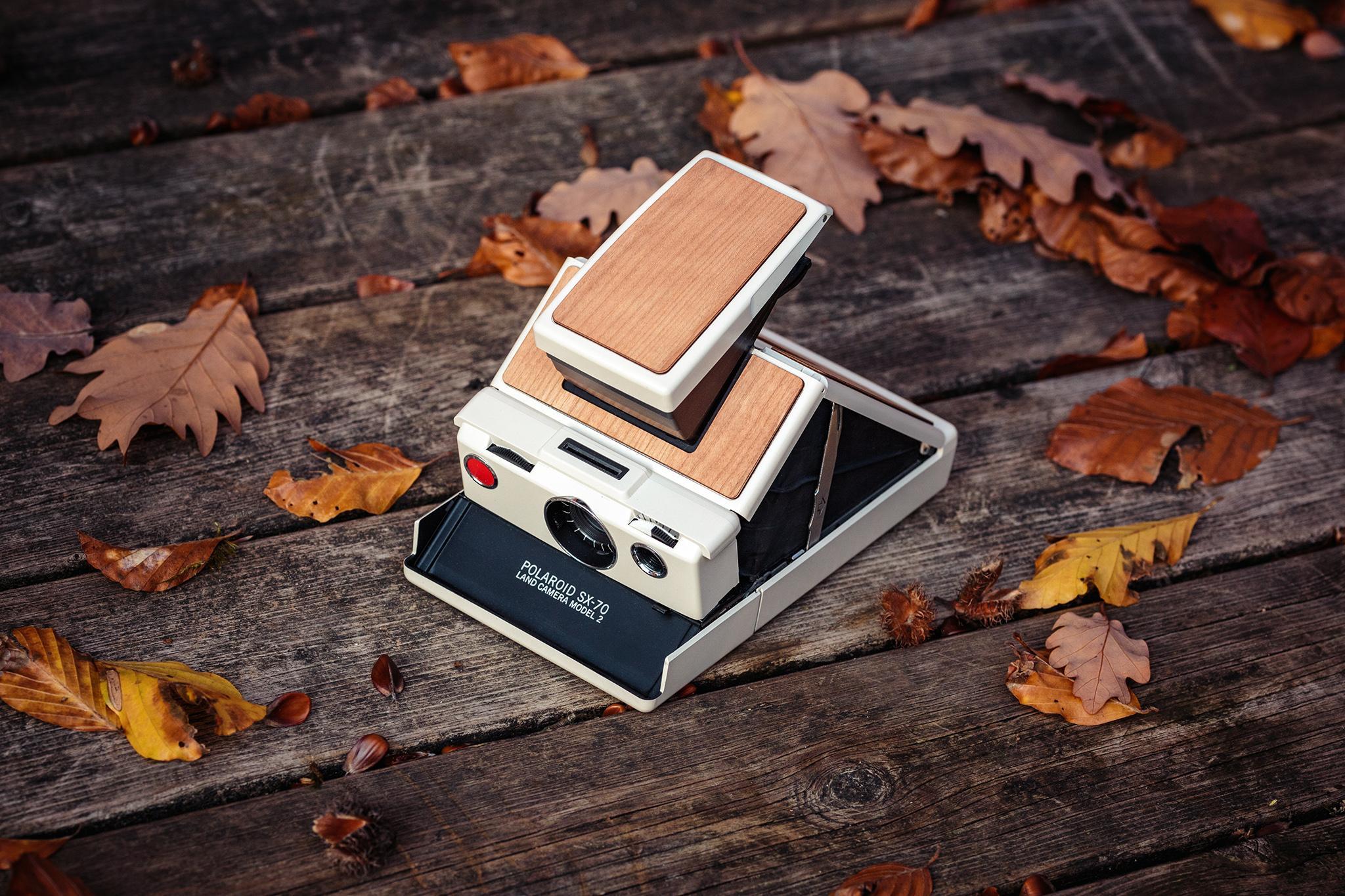 Polaroid Sx-70 Skin - Proteggi la tua Polaroid con le nostre preziose Skin in legno.
