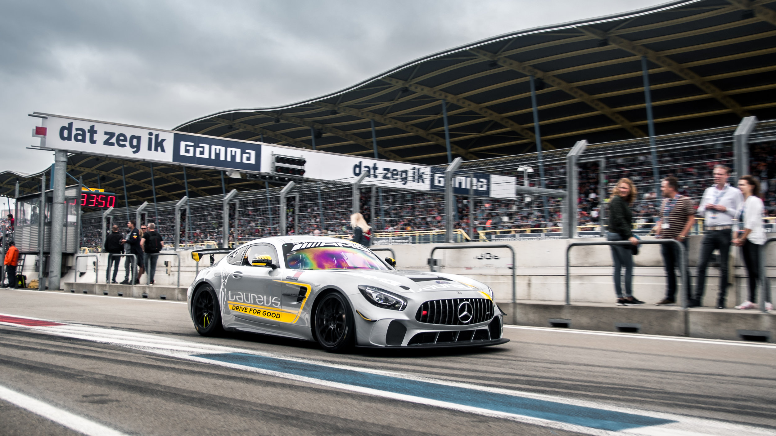 Gamma racing days  - 17 august 2018We will be present  with our race car - AMG GT4 - and other Supercars. Professional drivers will take you  for some hot-laps around Assen Circuit! More info click here!
