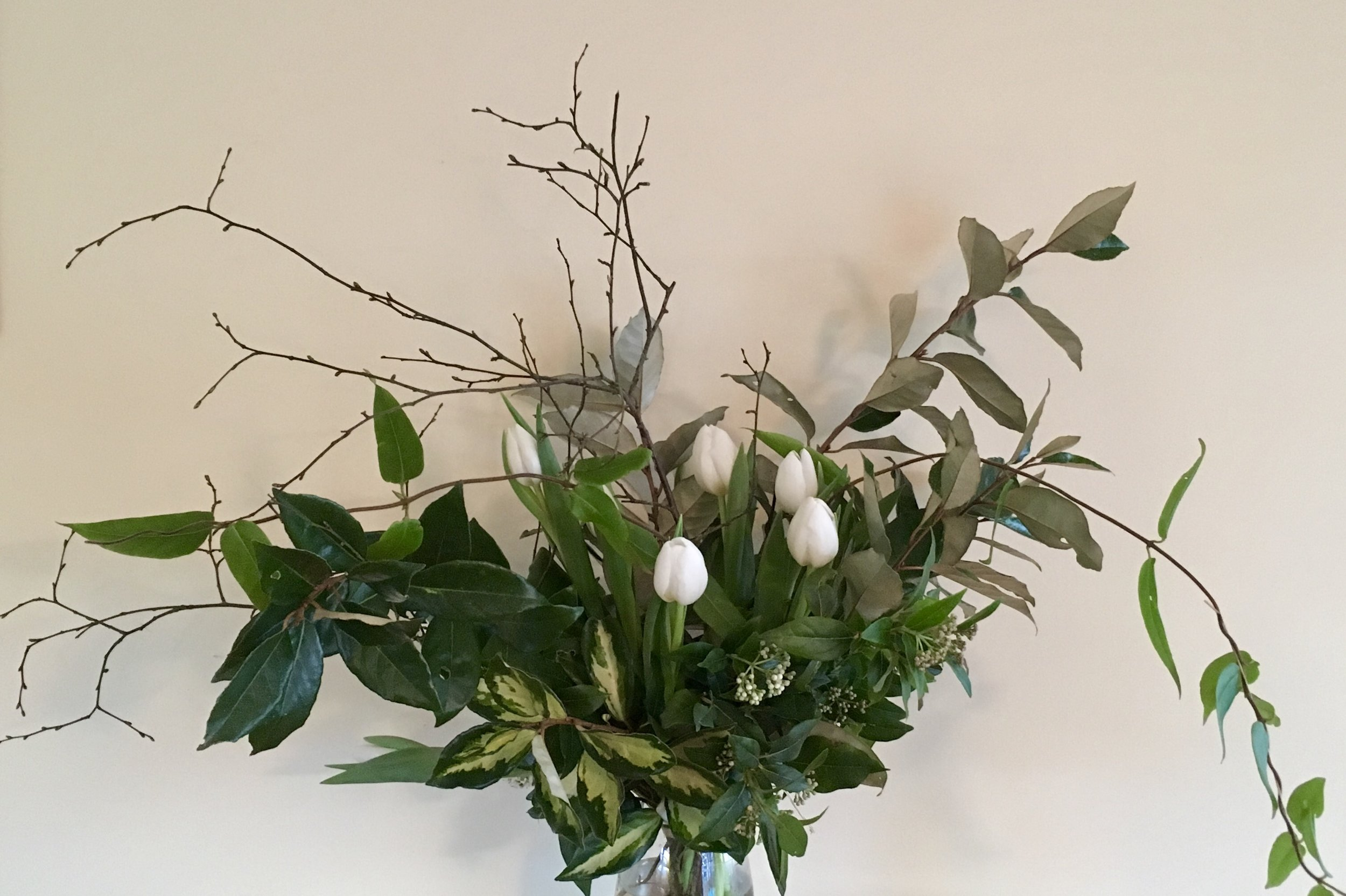 A Wedding Package - This would include bouquets, posies and buttonholes. As there are so many variations between parties please CONTACT ME for outline prices.