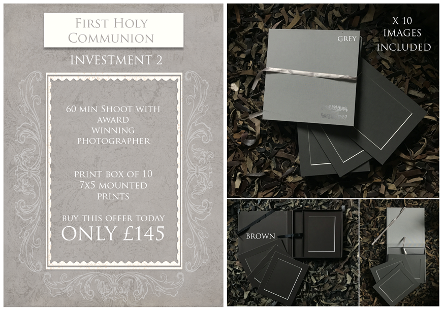 First holy communion photography products derry northern ireland