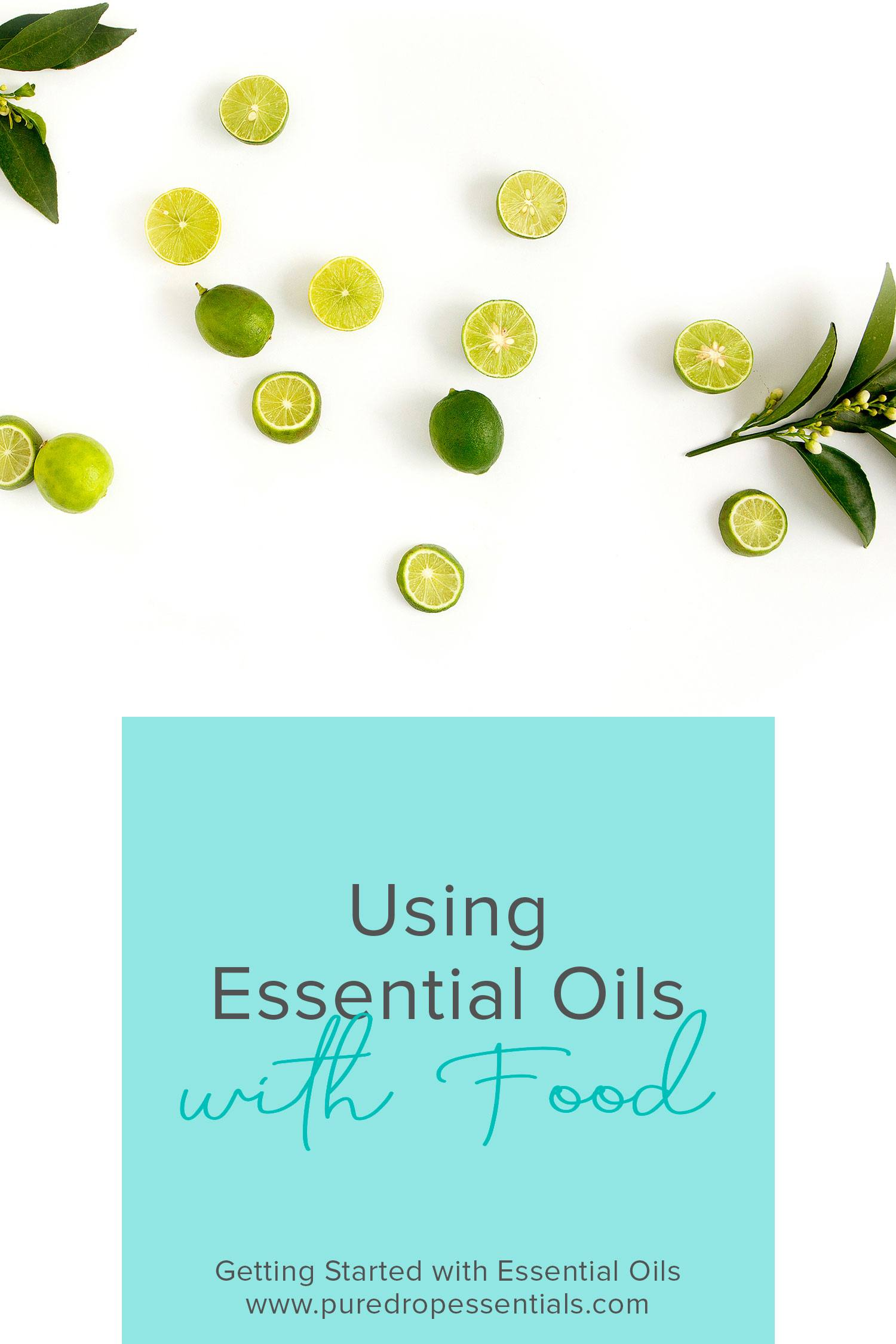 Did you know you can use some essential oils for flavouring your food? May foods you buy are already making use of essential oils for flavouring. Think peppermint tea, which gets its flavour from peppermint essential oil. There's no reason we can't use essential oils ourselves to flavour our food at home. Click through to find out more about using essential oils topically to support your body ! www.puredropessentials.com