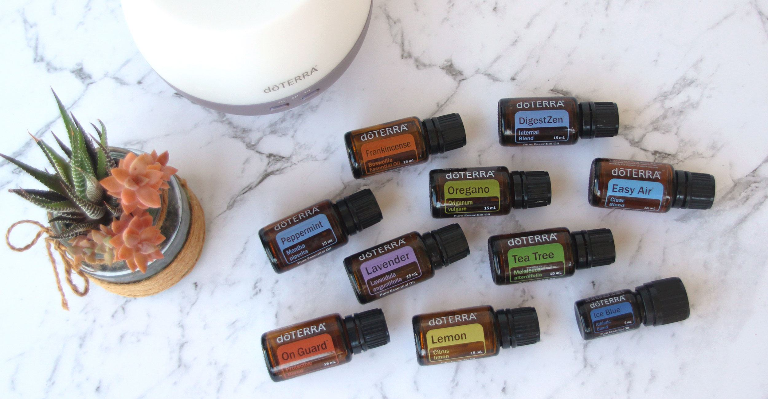 There are so many different essential oils to try that it can be hard to know which oils you should start with! You could start with scents that you already love, or make a selection from the top 10 essential oils which can be used to address most physical and emotional needs. Click through to find out about the benefits of the top 10 dōTERRA essentail oils and how they can be used to get started ! www.puredropessentials.com