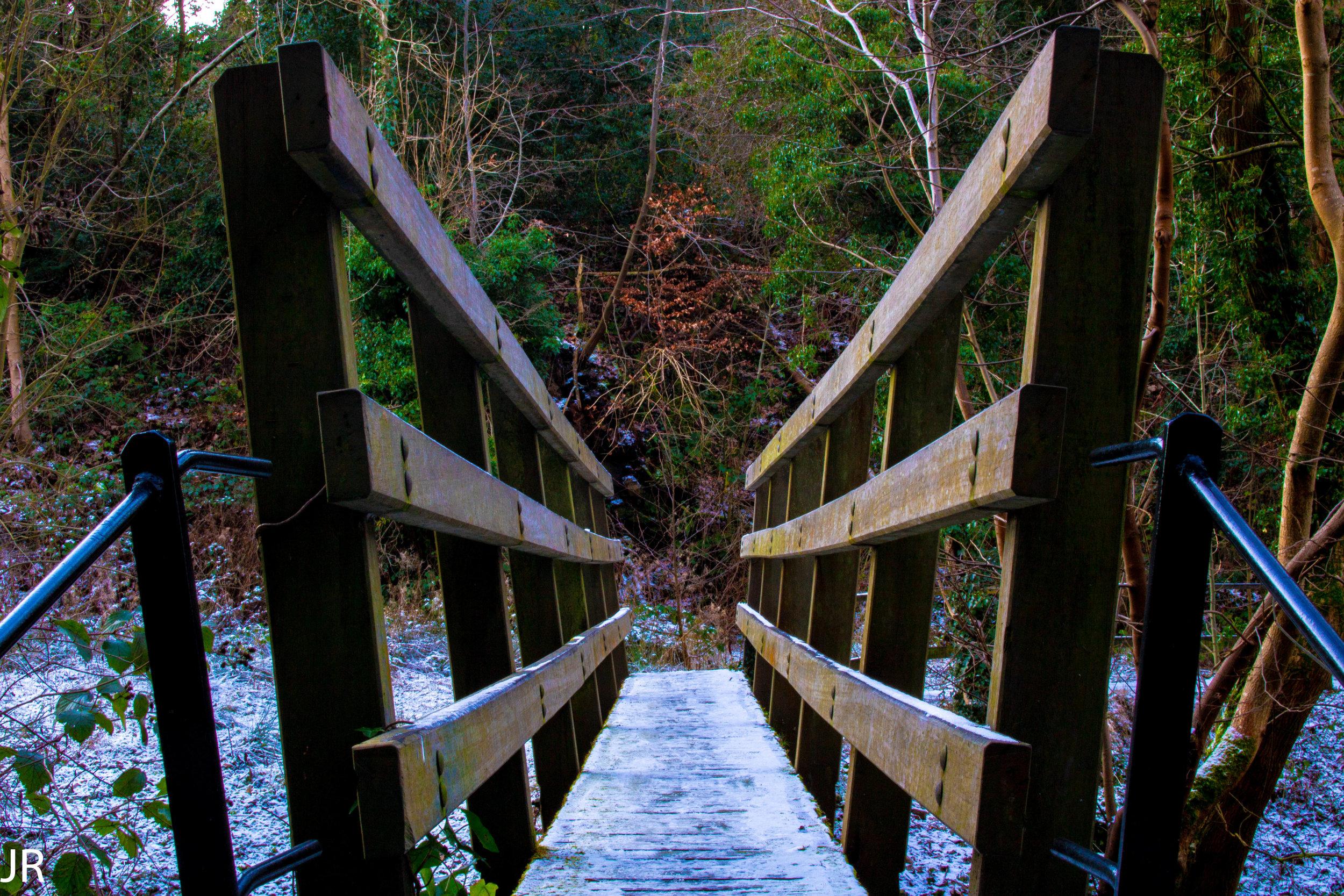 Little bridge by James Reid