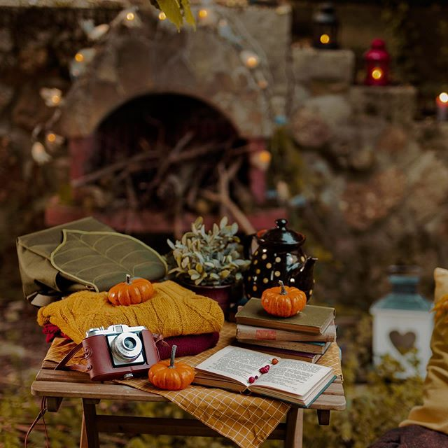 Cozy autumn vibes for  lazy Friday nights.  #autumnasthetic #leaflingbags