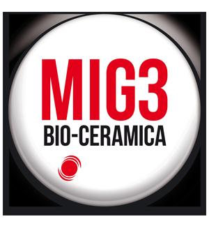 Invel bio-ceramica tecnologia MIG3