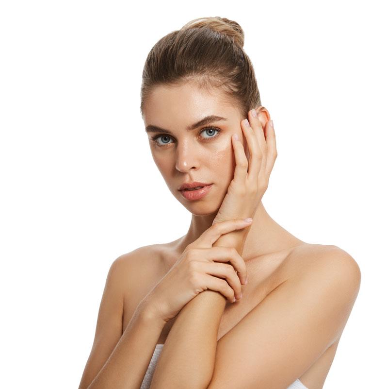 trattamento per le mani: crema gel hissamih e guanti senza dita
